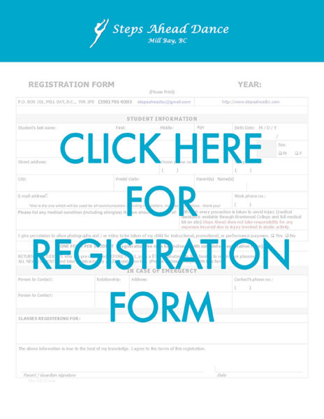 StepsAheadDance_RegistrationForm2016