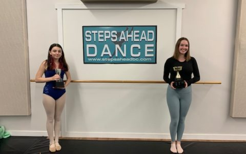 Congratulations to our ISTD Modern and Tap Trophy winners of 2020